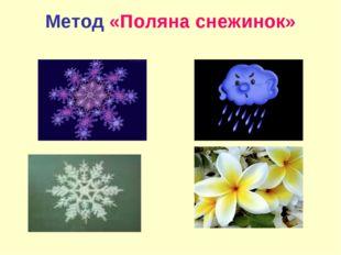 Метод «Поляна снежинок»