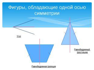 Фигуры, обладающие двумя осями симметрии Прямоугольник Ромб