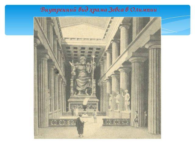 Внутренний вид индийского пещерного храма. III век до н.э.