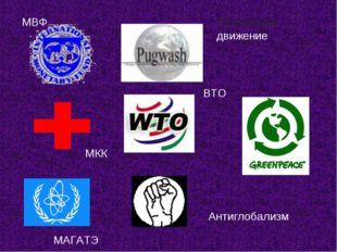 МВФ ВТО Пагуошское движение Антиглобализм МАГАТЭ МКК