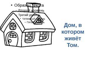 Дом, в котором живёт Том.