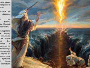 Вырос Моисей и узнал о своем происхождении и тяжелой доле всех евреев. Попыт