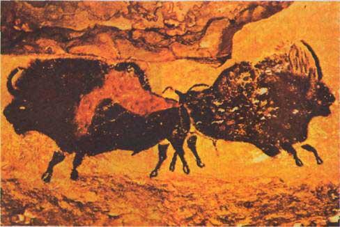 Росписи в пещере Ласко (Франция)