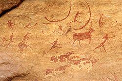 Настенный рисунок в Египте
