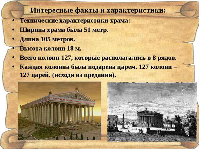 Интересные факты и характеристики: Технические характеристики храма: Ширина х...