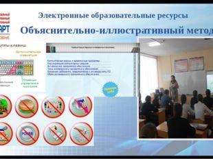 Электронные образовательные ресурсы Объяснительно-иллюстративный метод