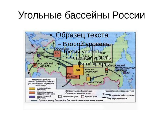 Угольные бассейны России