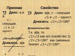 Т.к. ав, то 1=3 как н/л (свойство 1) 2+3=180 как смежные. Значит 1+2