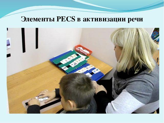 Элементы PECS в активизации речи