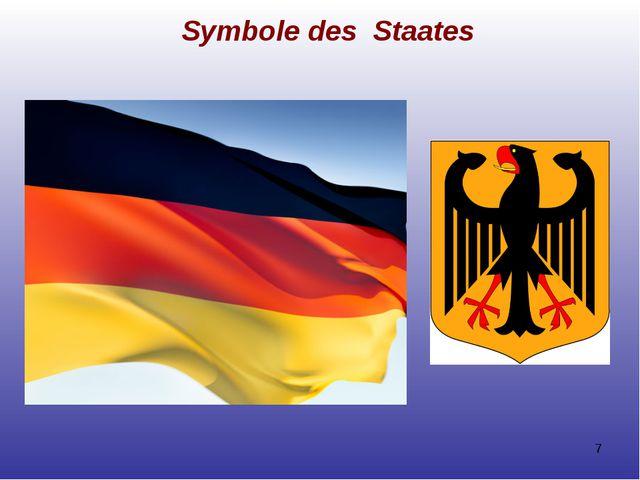 Symbole des Staates