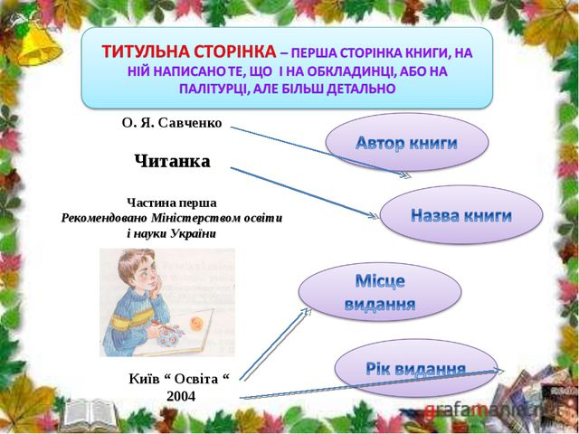 О. Я. Савченко Читанка Частина перша Рекомендовано Міністерством освіти і нау...