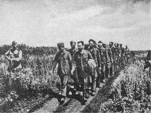 Беспримерные мужество и героизм советских солдат. Подвиг советских партизан.