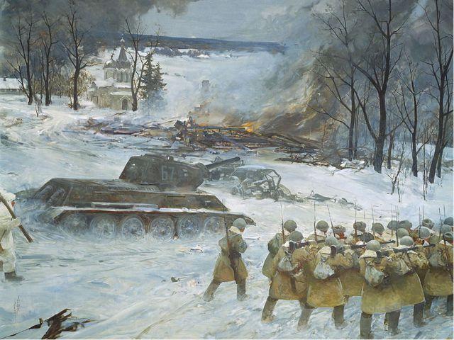 15 июля 1941 г. Немецкие ворвались в Смоленск. До Москвы оставалось чуть боле...