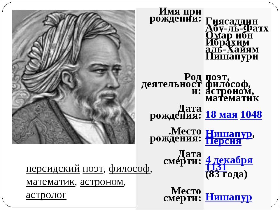 поэты философы стихи первых