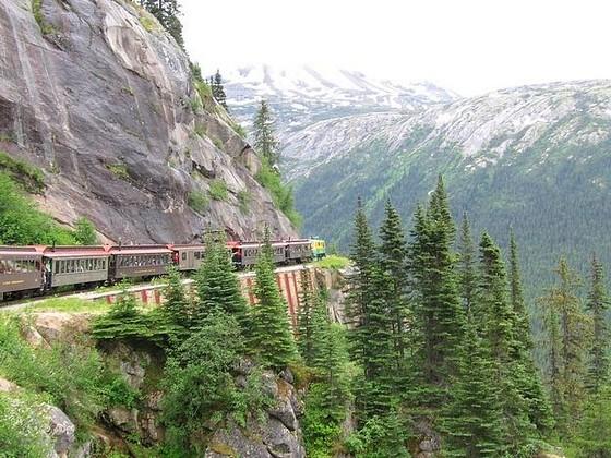 White Pass Yukon Rout самая опасная железная дорога на Аляске