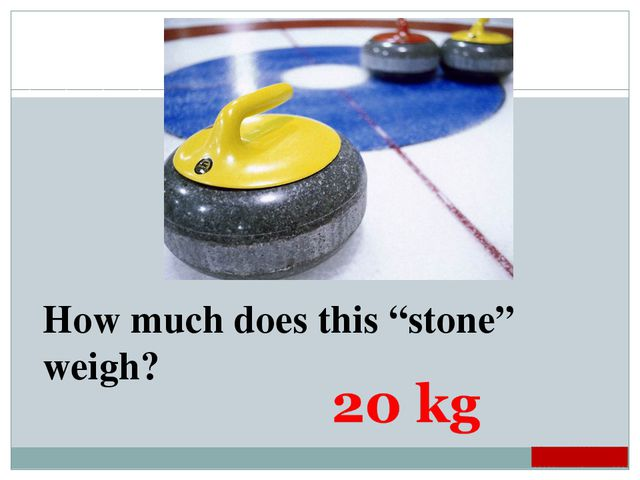 "How much does this ""stone"" weigh?"