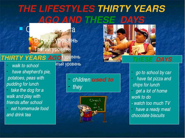 THE LIFESTYLES THIRTY YEARS AGO AND THESE DAYS walk to school have shepherd's...