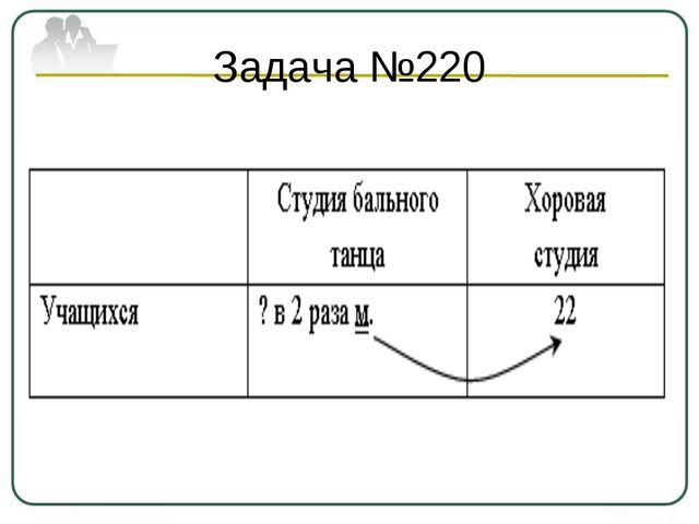 Задача №220