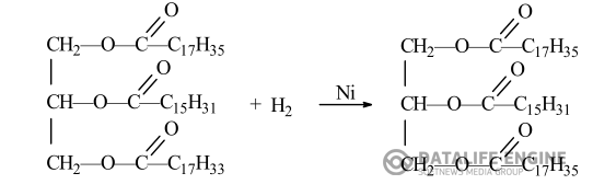 РГМУ. Напишите уравнения реакций гидрирования и гидролиза жира, в состав которого входят пальмитиновая , олеиновая и стеариновая кислоты.
