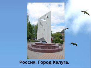 Россия. Город Калуга.