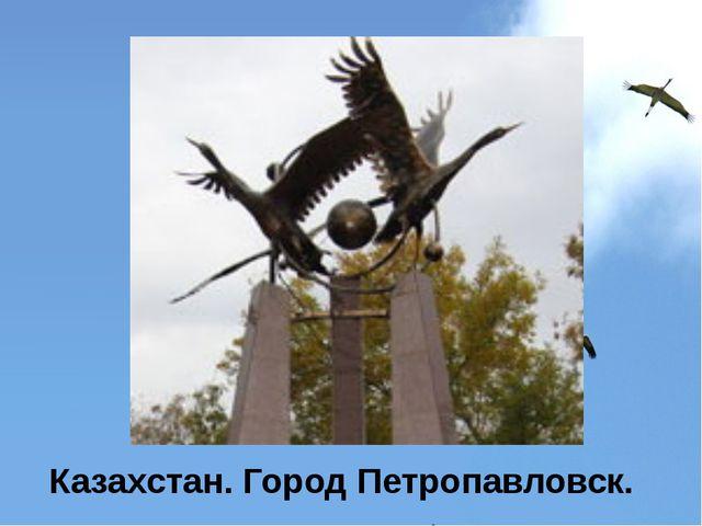 Казахстан. Город Петропавловск.