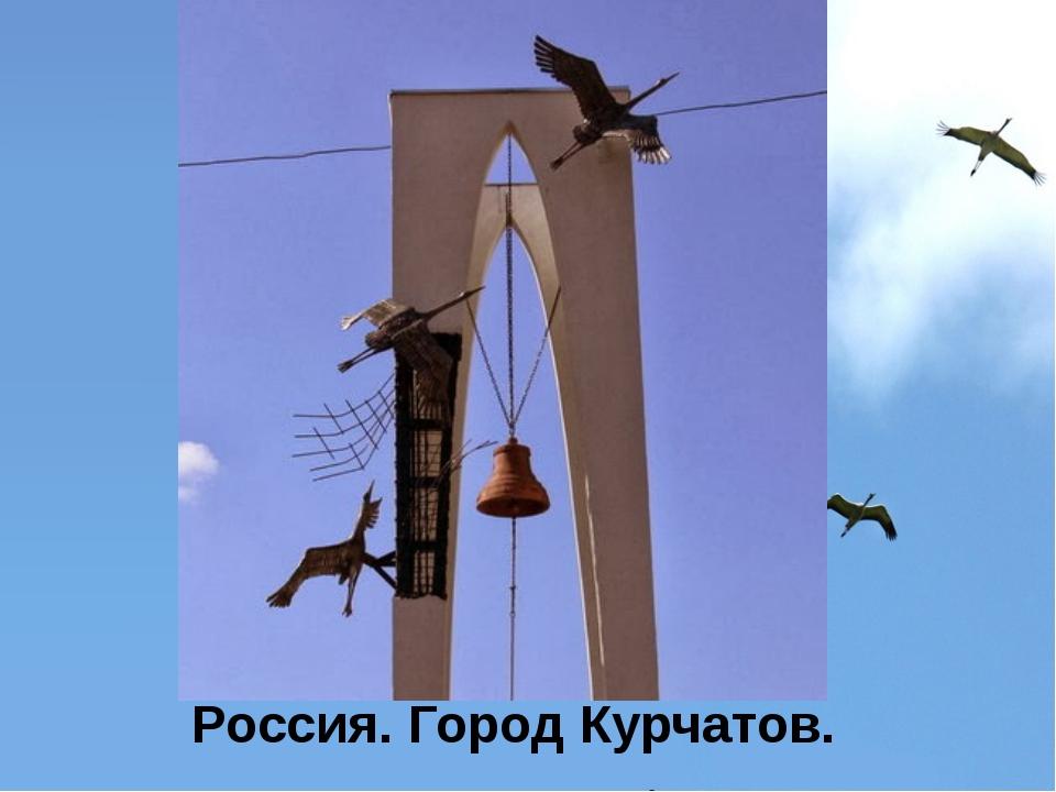 Россия. Город Курчатов.