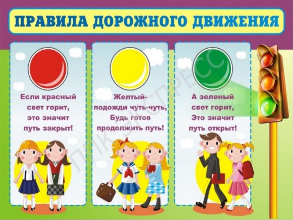 Стенгазета правила дорожного движения для детей 4