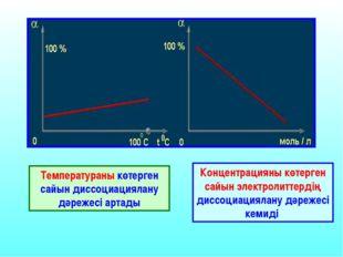 Диссоциациялану Константасы Әлсіз электролиттің иондарға ыдырау қабілеттілігі