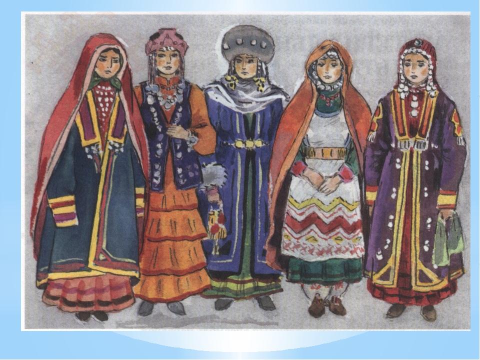 башкирский народный костюм картинки давайте разберемся, как