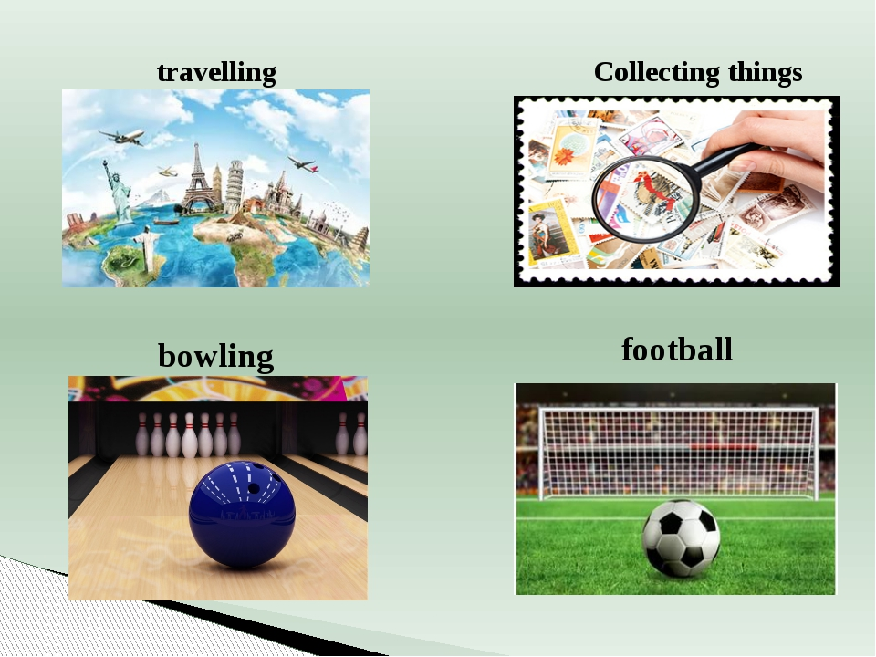 travelling bowling Collecting things football