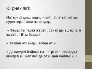 www.ZHARAR.com Көрнекілігі: Нақыл сөздер, ыдыс – аяқ , ұлттық тағам суреттері