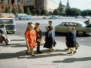 Московская Манежка 1965-го была большим асфальтовым полем