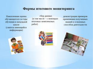демонстрации примеров применения полученных знаний и освоенных способов деяте