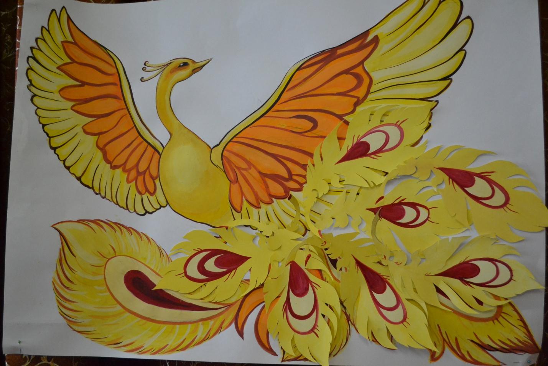 Картинки или рисунки жар-птицы