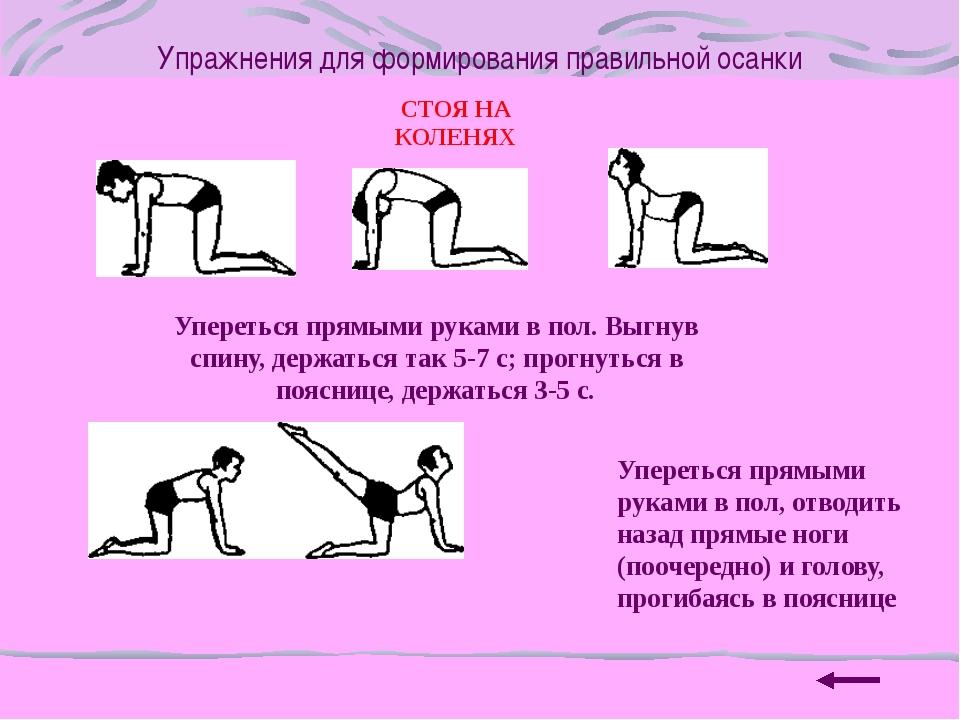 Упражнения для формирования правильной осанки В ВИСЕ Махи прямыми ногами впра...