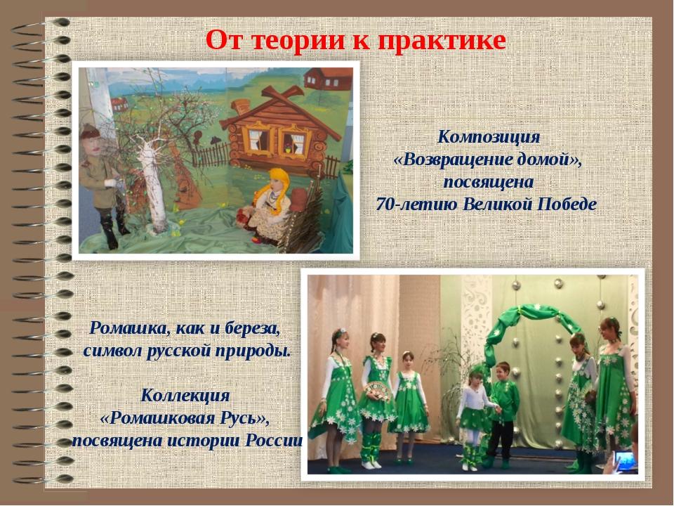От теории к практике Композиция «Возвращение домой», посвящена 70-летию Вели...