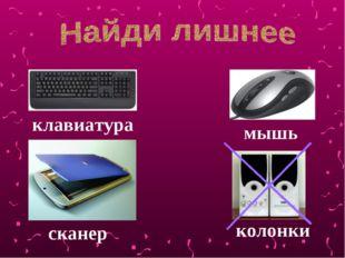 клавиатура мышь сканер колонки