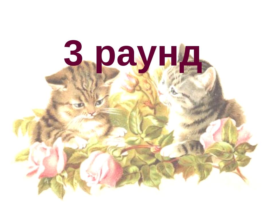 3 раунд