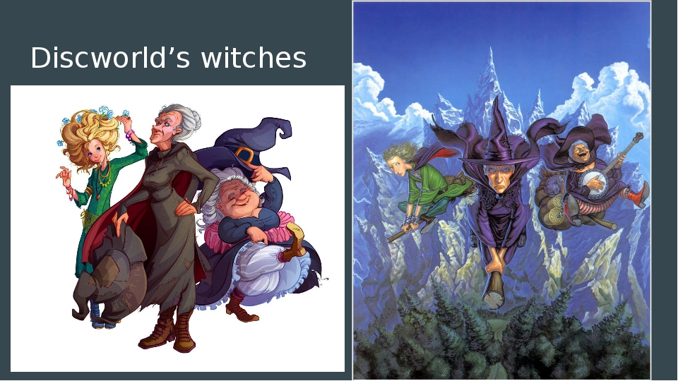 Discworld's witches