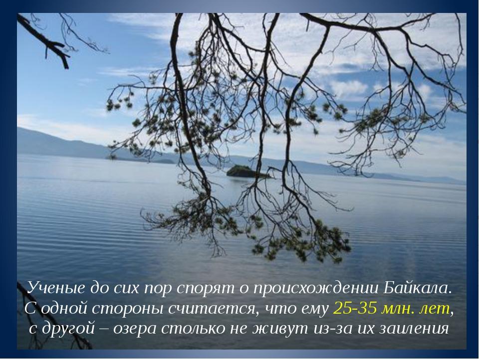 Ученые до сих пор спорят о происхождении Байкала. С одной стороны считается,...