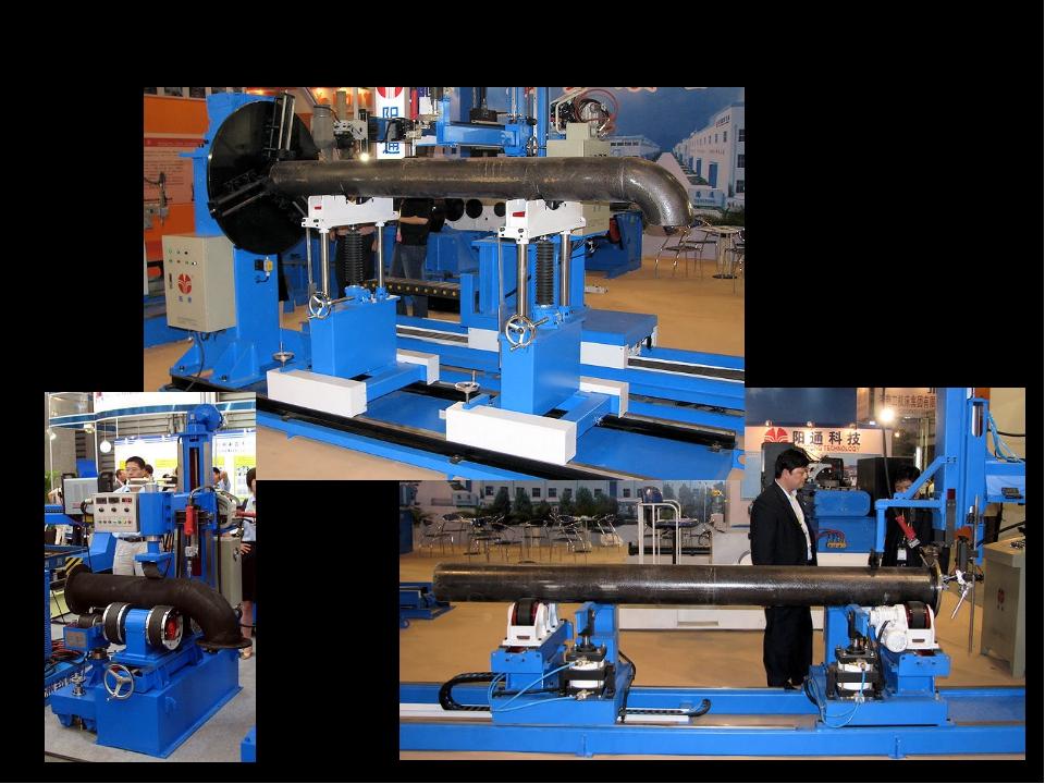 Специализированное сварочное оборудование установки для сварки труб с отводам...