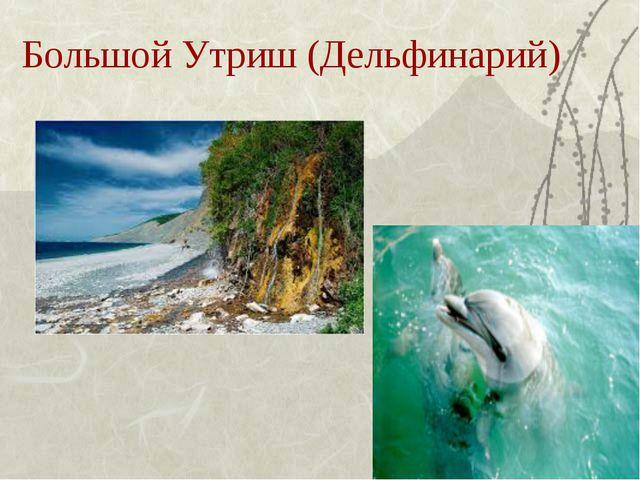 Большой Утриш (Дельфинарий)