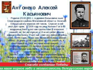Спасибо солдатам Победы за наше мирное небо и независимость белорусского наро
