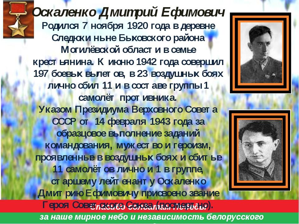 Спасибо солдатам Победы за наше мирное небо и независимость белорусского нар...