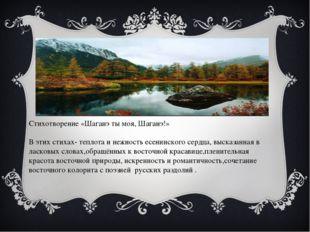Стихотворение «Шаганэ ты моя, Шаганэ!» В этих стихах- теплота и нежность есе