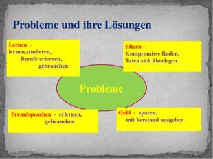 Probleme und ihre Lösungen Probleme Lernen - lernen,studieren, Berufe erlerne