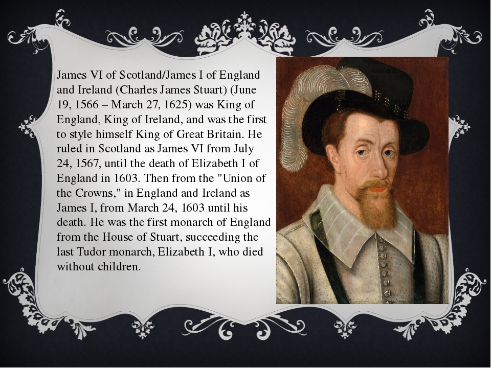 James VI of Scotland/James I of England and Ireland (Charles James Stuart) (J...