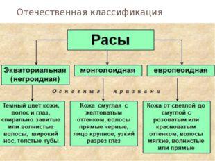 Отечественная классификация