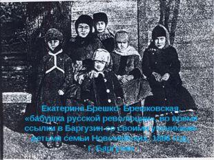Екатерина Брешко- Брешковская, «бабушка русской революции», во время ссылки в