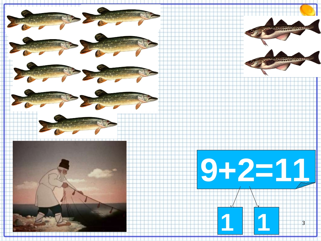 9+2=11 1 1 *